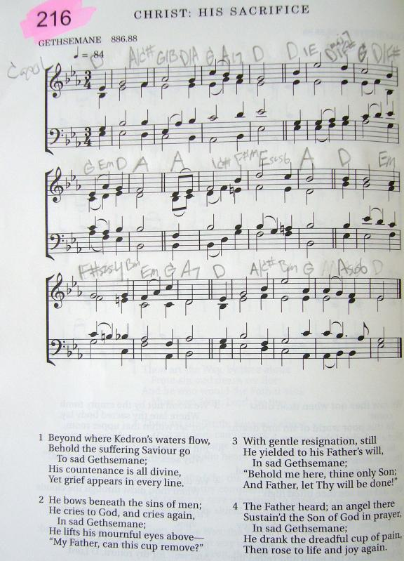 My 2002 Christadelphian Green Hymn Book with Guitar Chords (216 ...