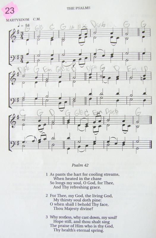My 2002 Christadelphian Green Hymn Book with Guitar Chords (23-As ...