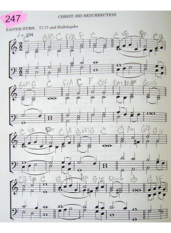 Christadelphian green hymn book