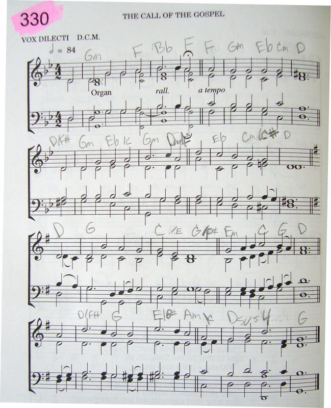 My 2002 Christadelphian Green Hymn Book With Guitar Chords 330 I