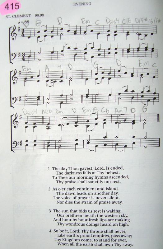 My 2002 Christadelphian Green Hymn Book with Guitar Chords (415-The ...