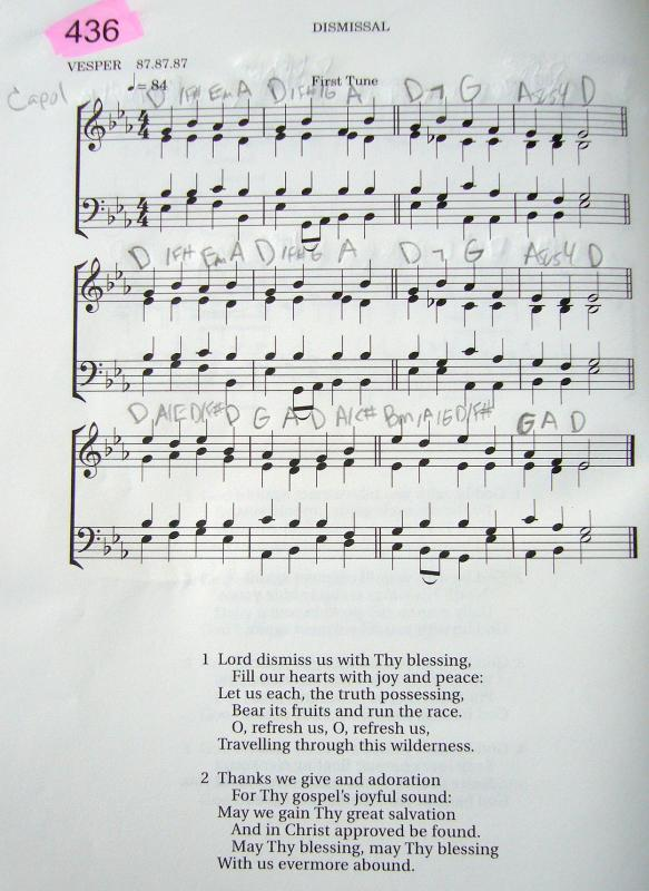My 2002 Christadelphian Green Hymn Book with Guitar Chords (436-Lord ...