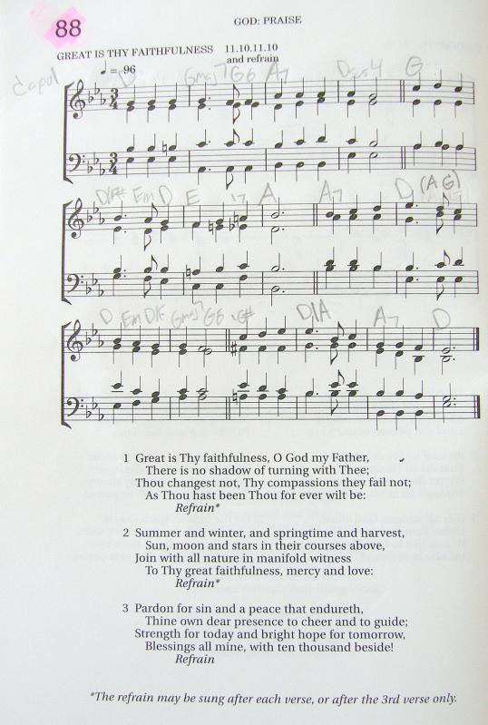 My 2002 Christadelphian Green Hymn Book with Guitar Chords (88-Great ...